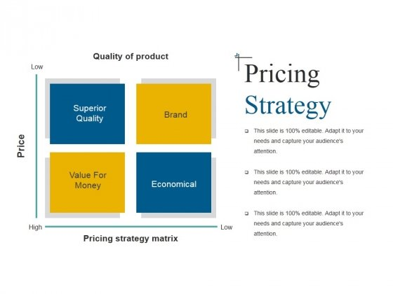 Pricing Strategy Template 2 Ppt Powerpoint Presentation Ideas