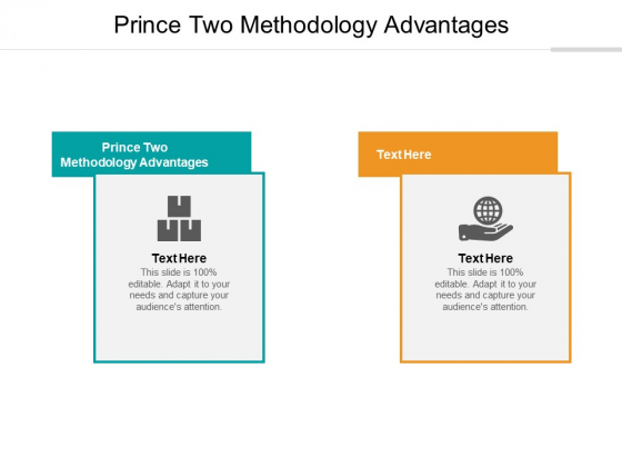 Prince Two Methodology Advantages Ppt PowerPoint Presentation Icon Example Cpb