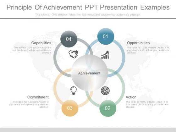 Principle Of Achievement Ppt Presentation Examples
