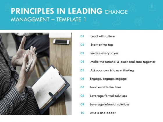 Principles In Leading Change Management Culture Ppt PowerPoint Presentation Layouts Mockup