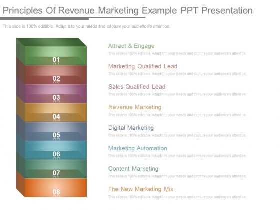 Principles Of Revenue Marketing Example Ppt Presentation