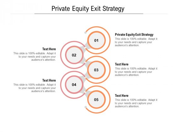 Private Equity Exit Strategy Ppt PowerPoint Presentation Tips Cpb Pdf