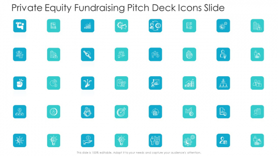 Private Equity Fundraising Pitch Deck Icons Slide Ppt Layouts Structure PDF