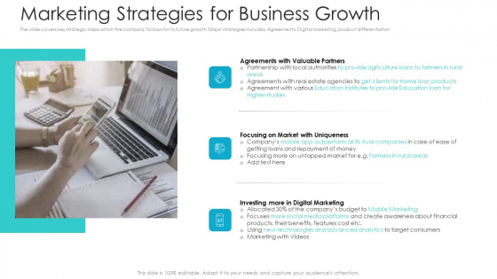 Private Equity Fundraising Pitch Deck Marketing Strategies For Business Growth Information PDF