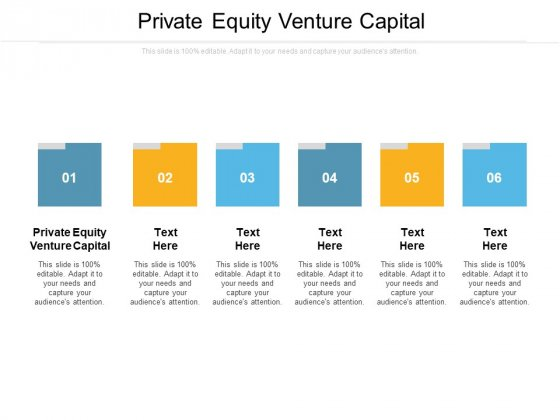 Private Equity Venture Capital Ppt PowerPoint Presentation Slides Objects Cpb Pdf