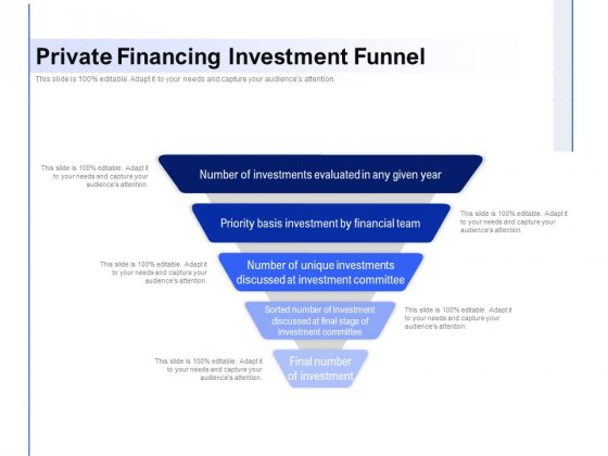 Private_Financing_Investment_Funnel_Ppt_PowerPoint_Presentation_Gallery_Shapes_PDF_Slide_1