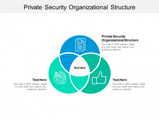Private Security Organizational Structure Ppt PowerPoint Presentation Outline Layout Cpb