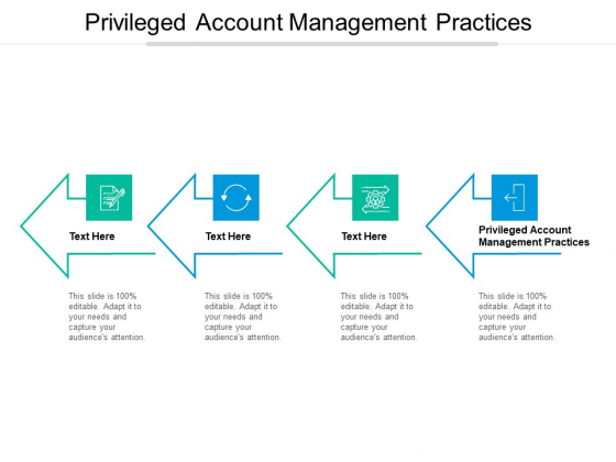 Privileged Account Management Practices Ppt PowerPoint Presentation Infographics Design Inspiration Cpb Pdf