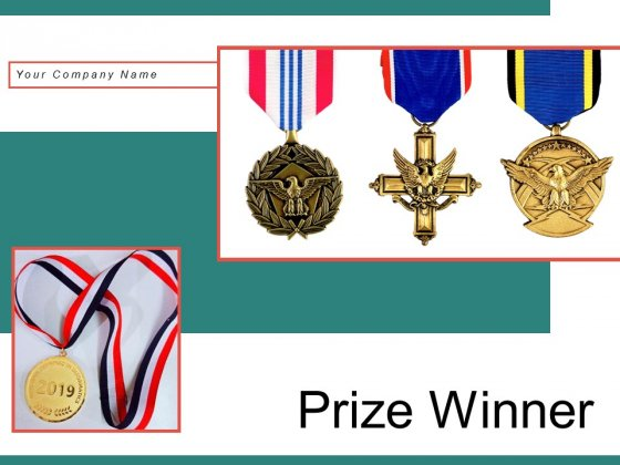 Prize Winner Gold Olympic Medal Ppt PowerPoint Presentation Complete Deck