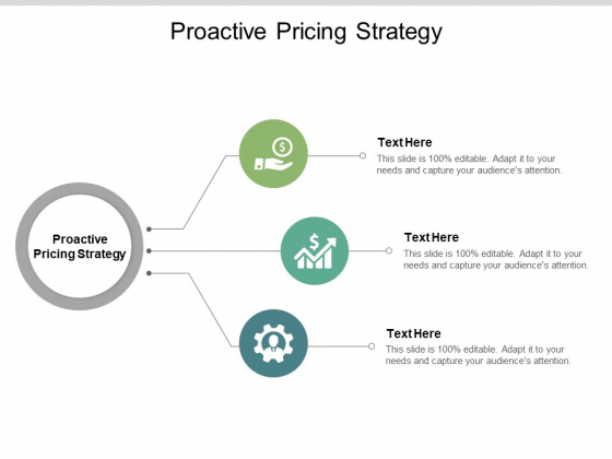 Proactive Pricing Strategy Ppt PowerPoint Presentation Ideas Example Topics Cpb