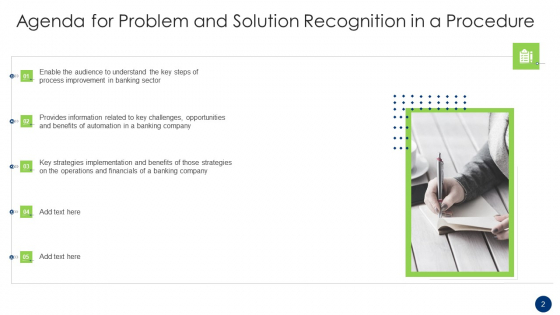Problem_And_Solution_Recognition_In_A_Procedure_Ppt_PowerPoint_Presentation_Complete_Deck_With_Slides_Slide_2