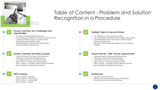 Problem_And_Solution_Recognition_In_A_Procedure_Ppt_PowerPoint_Presentation_Complete_Deck_With_Slides_Slide_3