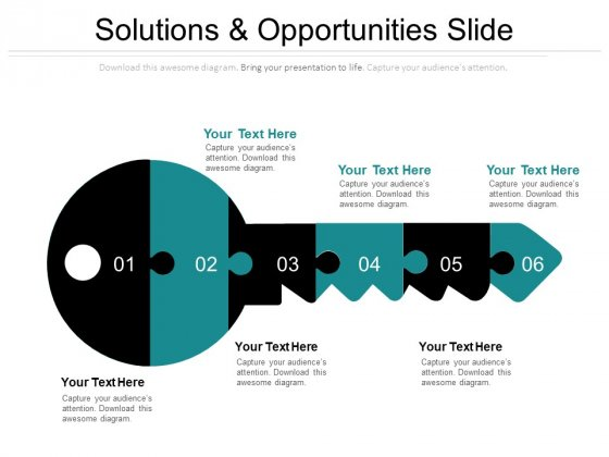 Problem Solution Free PowerPoint Diagram
