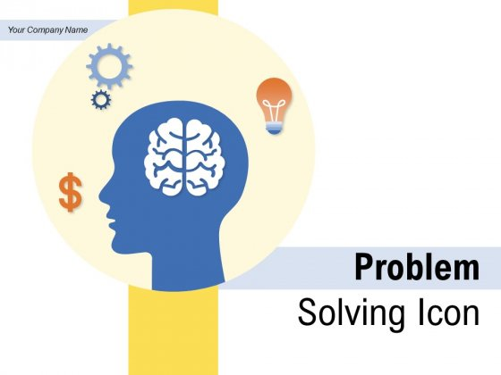 Problem Solving Icon Gear Employee Ppt PowerPoint Presentation Complete Deck