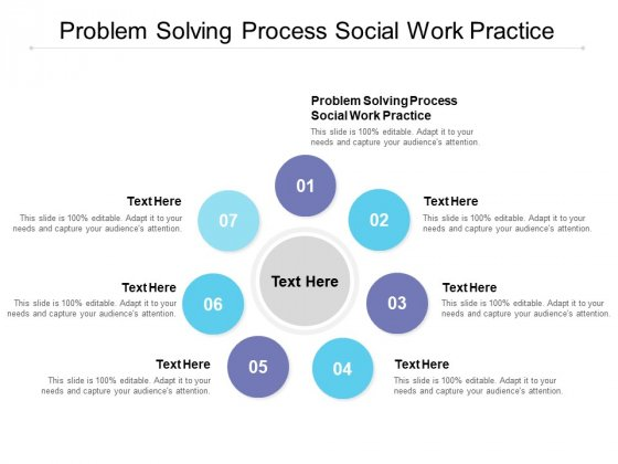 Problem Solving Process Social Work Practice Ppt PowerPoint Presentation Portfolio Files Cpb
