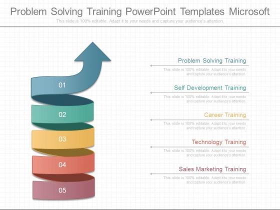 Problem Solving Training Powerpoint Templates Microsoft