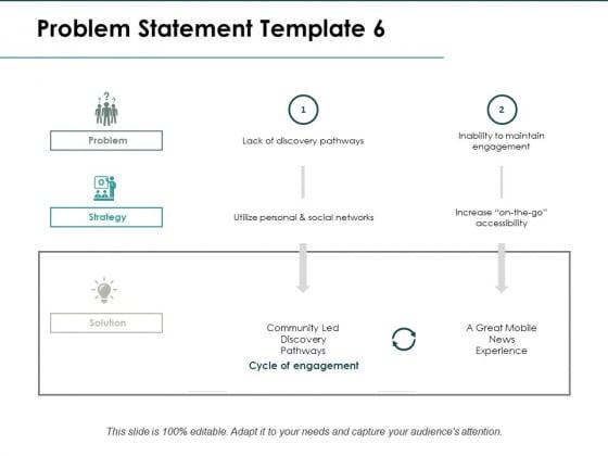Problem Statement Strategy Ppt PowerPoint Presentation Show Gridlines