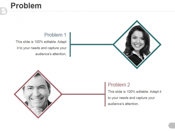 Problem Template 1 Ppt PowerPoint Presentation Visuals