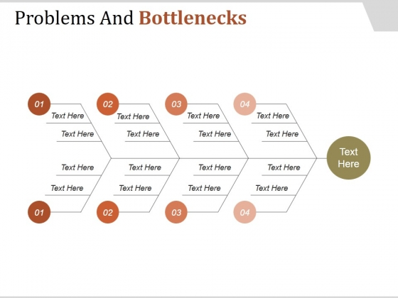 Problems And Bottlenecks Template 1 Ppt PowerPoint Presentation Rules