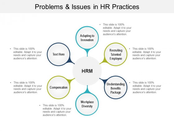 Problems And Issues In HR Practices Ppt PowerPoint Presentation Show Samples
