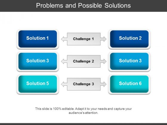 Problems And Possible Solutions Ppt PowerPoint Presentation Icon Slide Download