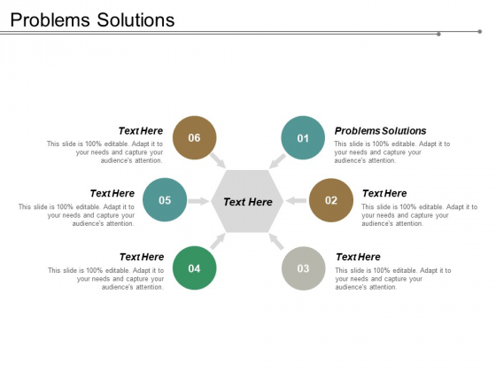 Problems Solutions Ppt PowerPoint Presentation Inspiration Display Cpb