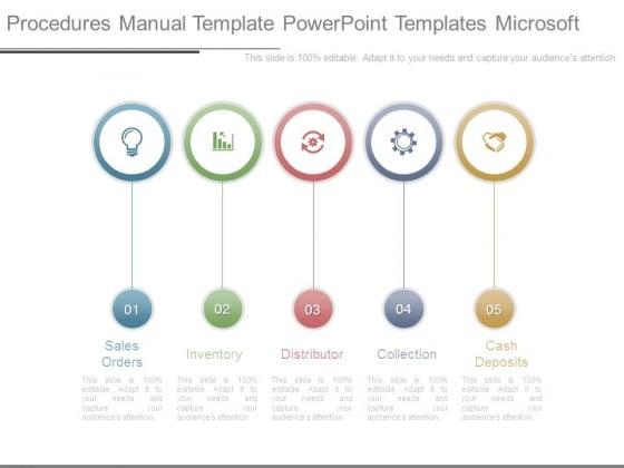 Procedures Manual Template Powerpoint Templates Microsoft