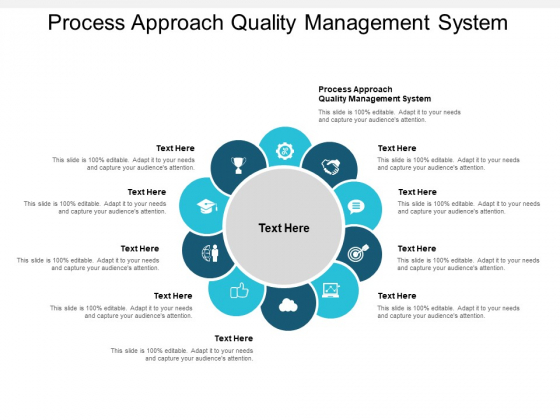 Process Approach Quality Management System Ppt PowerPoint Presentation Summary Designs Cpb