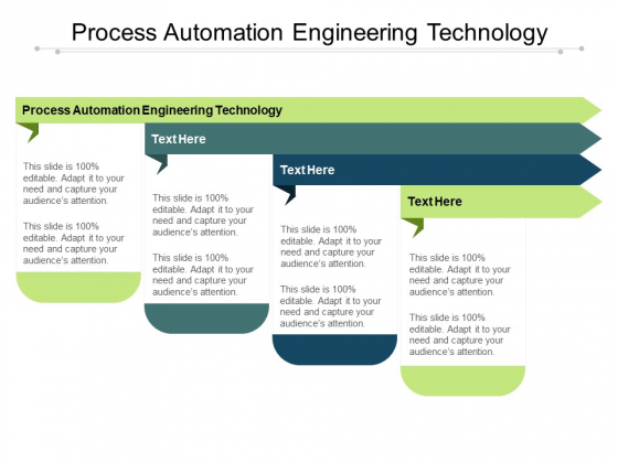 Process Automation Engineering Technology Ppt PowerPoint Presentation File Show Cpb Pdf
