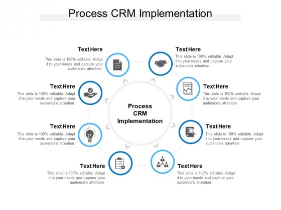 Process CRM Implementation Ppt PowerPoint Presentation Layouts Example File Cpb