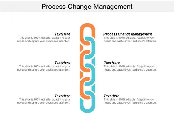 Process Change Management Ppt PowerPoint Presentation Layouts Visual Aids Cpb
