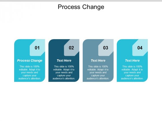 Process Change Ppt Powerpoint Presentation Icon Samples Cpb