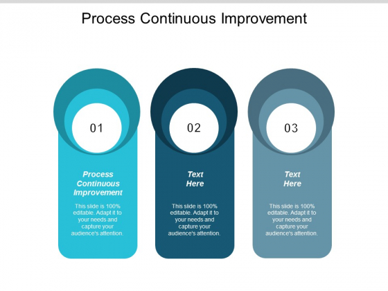 Process Continuous Improvement Ppt Powerpoint Presentation Model Gallery Cpb