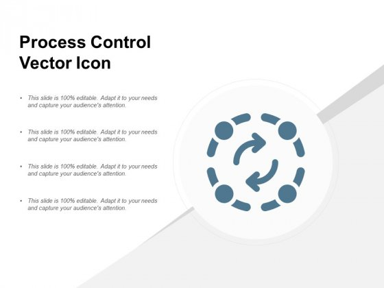 Process Control Vector Icon Ppt PowerPoint Presentation Outline Skills