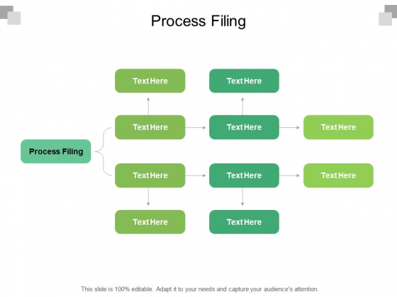 Process Filing Ppt PowerPoint Presentation Infographic Template Sample Cpb Pdf