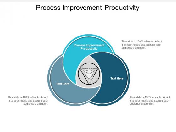Process Improvement Productivity Ppt PowerPoint Presentation Gallery Inspiration Cpb