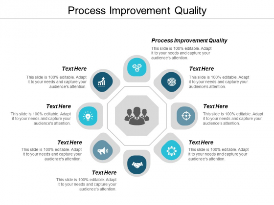 Process Improvement Quality Ppt Powerpoint Presentation File Visuals Cpb