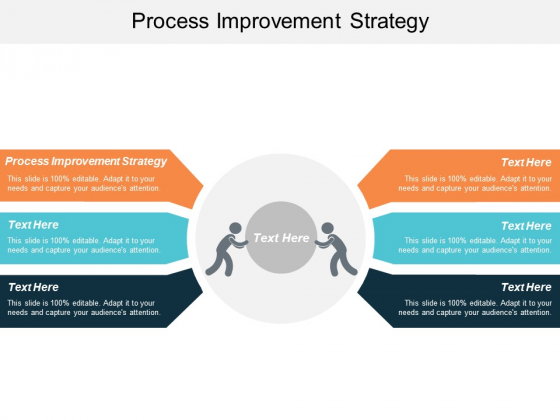 Process Improvement Strategy Ppt PowerPoint Presentation Ideas Influencers Cpb