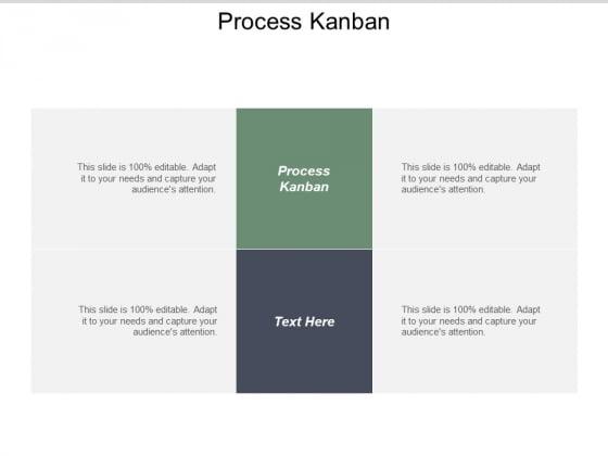 Process Kanban Ppt PowerPoint Presentation Inspiration Slide Cpb