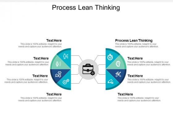 Process Lean Thinking Ppt PowerPoint Presentation Styles Example Cpb