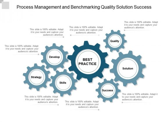 Process Management And Benchmarking Quality Solution Success Ppt Powerpoint Presentation Show Inspiration