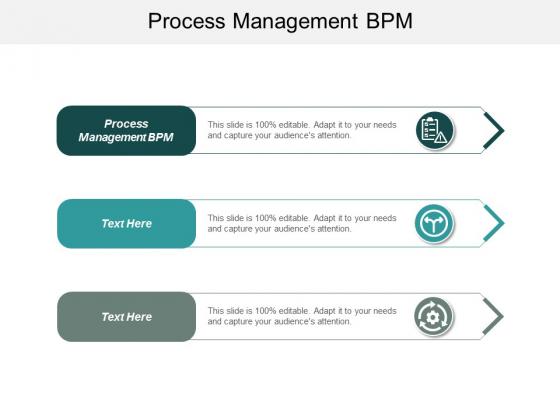 Process Management Bpm Ppt Powerpoint Presentation Model Tips Cpb