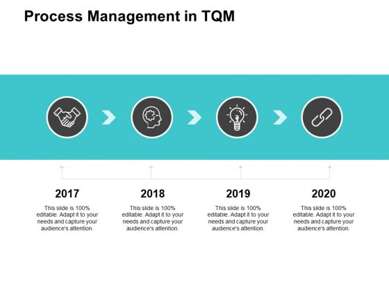 Process Management In TQM Ppt PowerPoint Presentation Professional Show