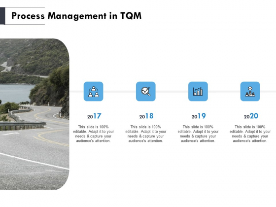 Process Management In TQM Ppt PowerPoint Presentation Styles Graphics Template