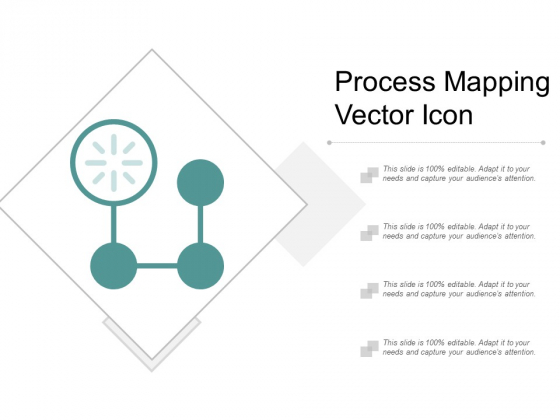 Process Mapping Vector Icon Ppt Powerpoint Presentation Styles Backgrounds