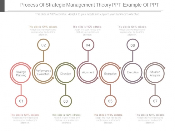 Process Of Strategic Management Theory Ppt Example Of Ppt