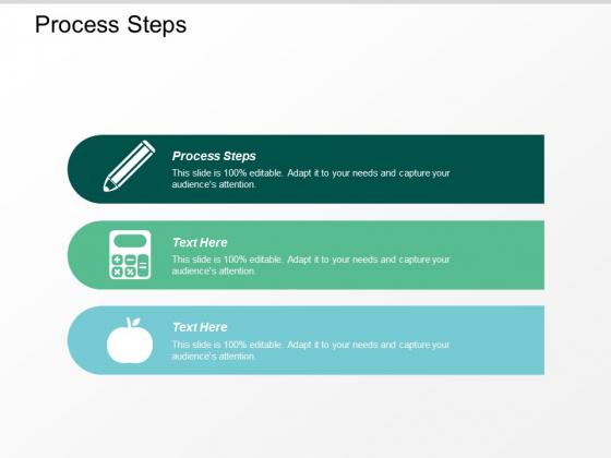 Process Steps Ppt Powerpoint Presentation Show Deck Cpb