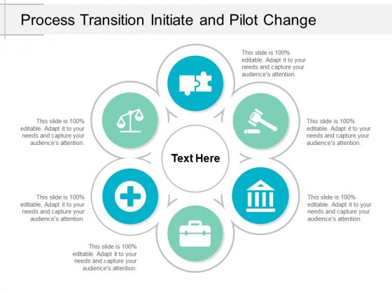 Process Transition Initiate And Pilot Change Ppt PowerPoint Presentation File Graphics Template