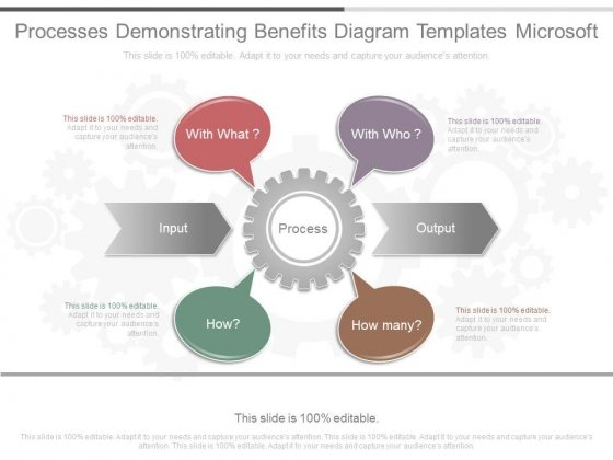 Processes Demonstrating Benefits Diagram Templates Microsoft