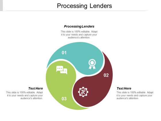 Processing Lenders Ppt PowerPoint Presentation Gallery Introduction Cpb